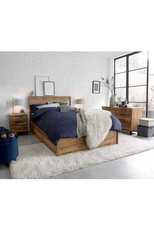 Bronx 2 Drawer Bedside Table