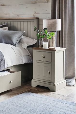 Hampton Storage 1 Drawer Bedside Table