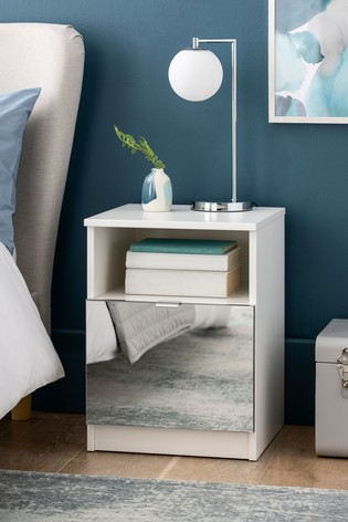 Flynn 1 Drawer Bedside Table