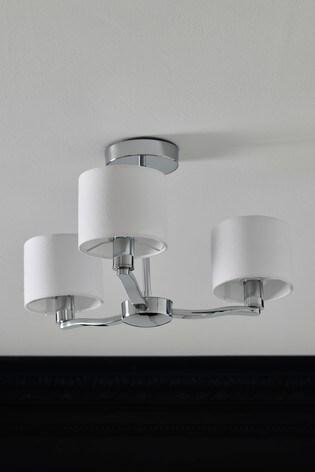 Como 3 Light Flush Fitting