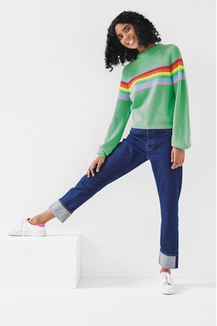 Anne Bernecker x Label Straight Leg Jeans