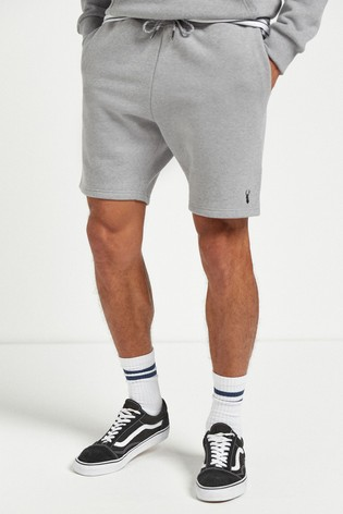 Grey Marl Shorts