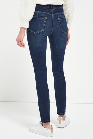 Dark Blue Enhancer Skinny Jeans