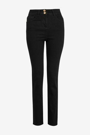 Black Enhancer Slim Jeans