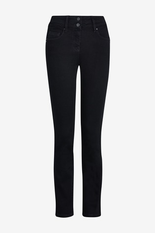 Black Lift, Slim And Shape Slim Jeans