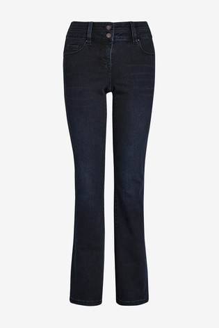 Inky Wash Lift, Slim And Shape Boot Cut Jeans