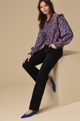 Black Lift, Slim And Shape Boot Cut Jeans