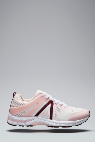 White/Pink V300W Active Running Trainers