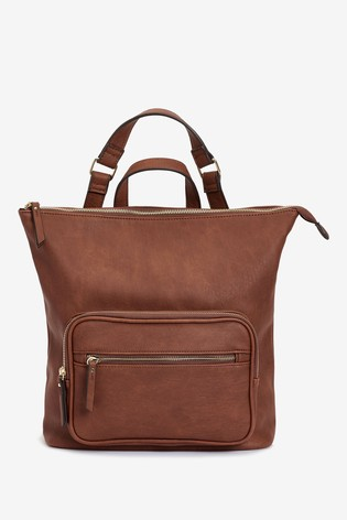 Tan Multi Wear Rucksack