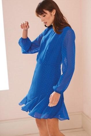 Blue Flippy Dress