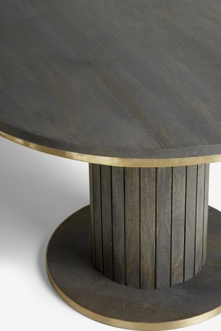 Piano Round 4 Seater Dining Table
