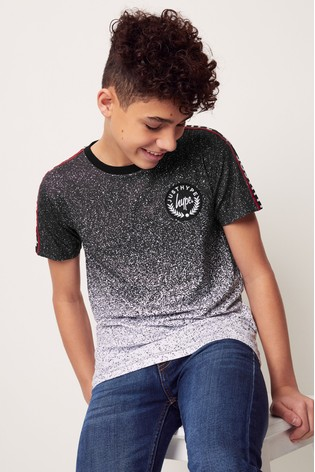 Hype. Speckle Fade Tape T-Shirt