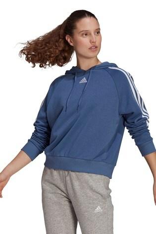 adidas 3 Stripe Sport Fashion Pullover Hoodie