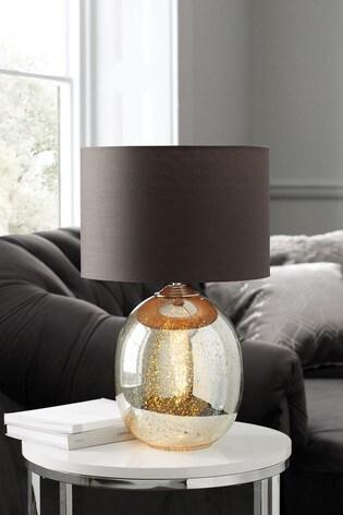 Petra Dual Light Gold Mercury Table Lamp