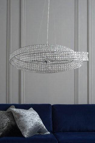 Venetian 10 Light Oval Pendant