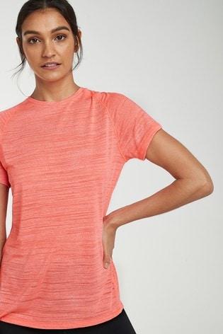 Coral Short Sleeve Sports T-Shirt