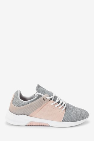 Pink/Grey NX Active Trainers