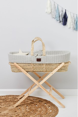 The Little Green Sheep Moses Basket