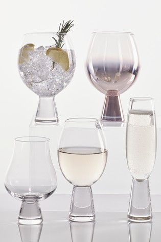 Aubrie Chunky Set of 2 Balloon Glasses