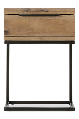 Bronx Slim 1 Drawer Bedside Table