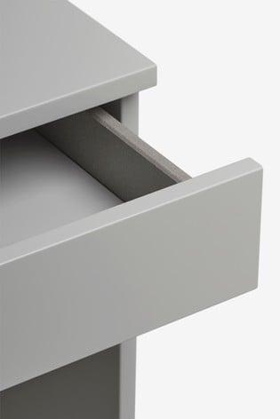 Flynn Grey Desk/Console Dressing Table