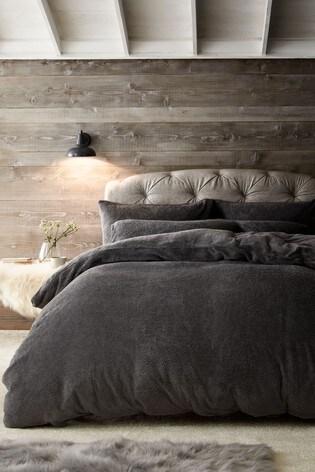 Cosy Fleece Duvet Cover And Pillowcase Set