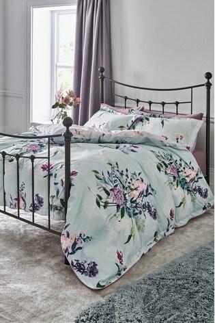 Vintage Bouquet Duvet Cover and Pillowcase Set
