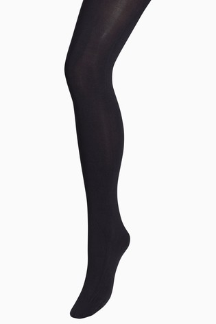 Black 150 Denier Opaque Tights One Pack