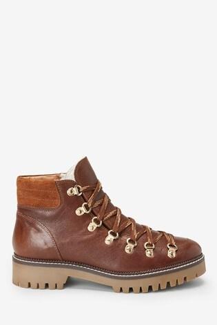 Tan Signature Comfort Premium Hiker Boots