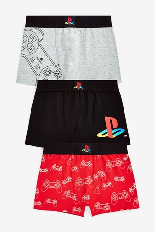 Multi 3 Pack PlayStation™ Trunks (3-16yrs)