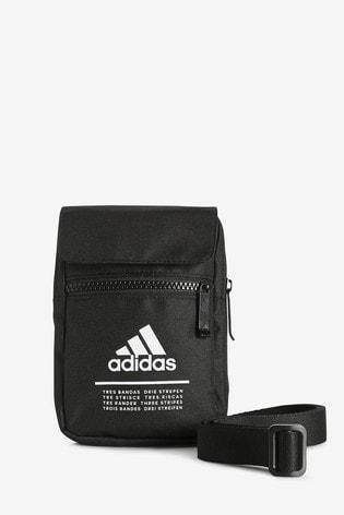 adidas Kleine, schwarze Tasche