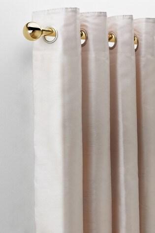 Ball Finial Extendable 28mm Curtain Pole Kit