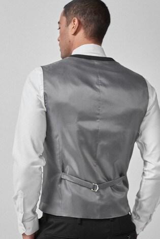 Black Big & Tall Waistcoat