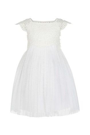 Monsoon Ivory Baby Estella Dress