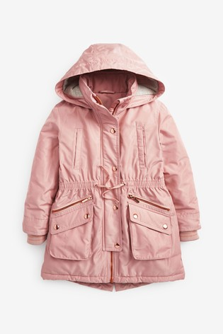 Pink Parka (3-16yrs)