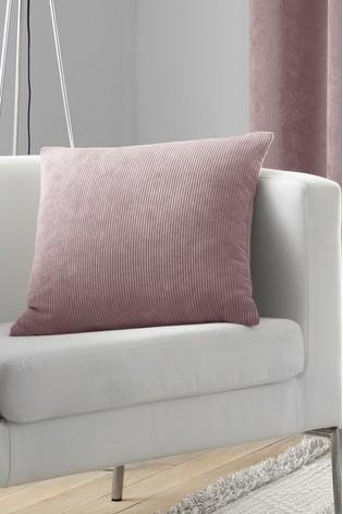 Curtina Blush Pink Cord Cushion