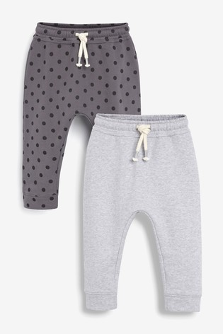 Grey 2 Pack Joggers (3mths-7yrs)
