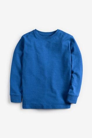 Cobalt Long Sleeve Cosy T-Shirt (3-16yrs)