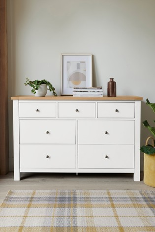 Malvern 7 Drawer Wide Chest