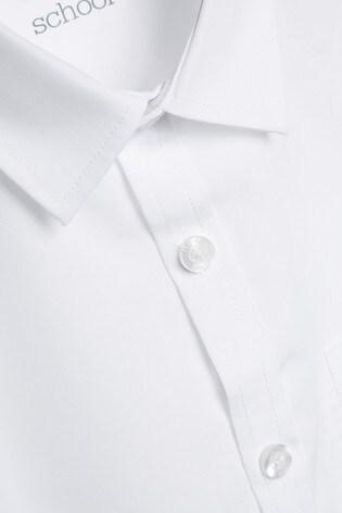 Kurzärmelige Hemden im 2er Pack, Weiß (3 16yrs)