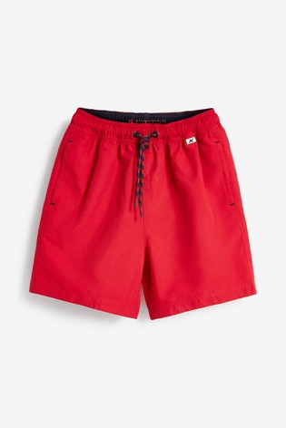 Red Swim Shorts (1.5-16yrs)