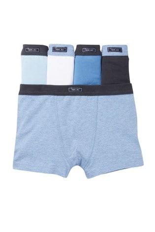 Blue 5 Pack Trunks (2-16yrs)