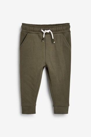 Khaki Joggers Soft Touch Jersey (3mths-7yrs)