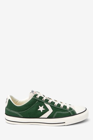 Converse One Star Player Green Trainers | Green trainers