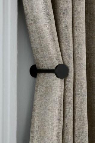 Set of 2 Stud Curtain Holdbacks