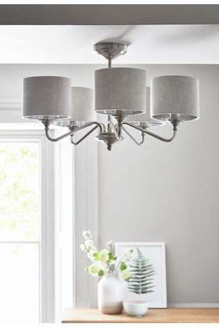 Burford 5 Light Dual Mount Chandelier