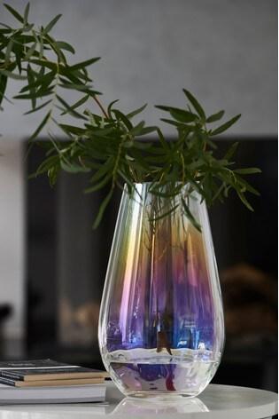 Lustre Glass Vase