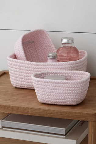 Set of 3 Paperweave Trays