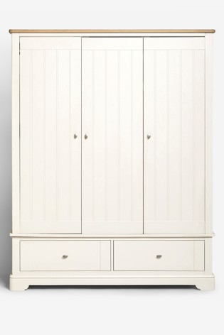 Hampton Triple Wardrobe