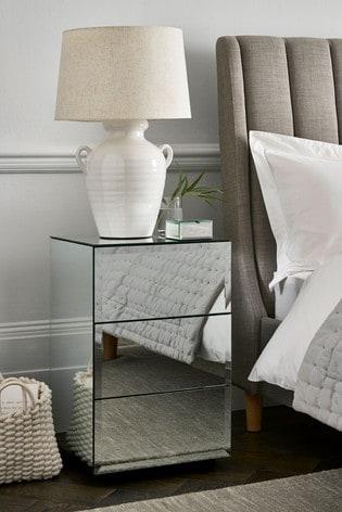 Sloane 3 Drawer Bedside Table